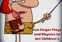 Finger play and rhymes