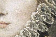 detalles en la pintura