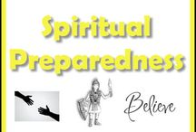 Spiritual Preparedness / Becoming Spiritually Prepared is vital, especially for those who are faith-based. If we get so caught up in the negativity and fear of pending doom, our hearts can fail us. There is a purpose in everything that happens. If we do our best, God will make all the hard things we go through end up as a blessing in our lives in the end. We must keep our core values grounded and continue to build (or even begin) a closer relationship with our Creator. Overall, it takes faith to endure trials.