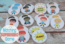 Super hero party / by Kylie Williams