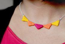 Hooked jewellery
