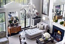 Chic Neutral Gray Beige Rooms / Gray and Beige Rooms