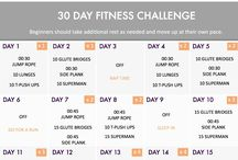 Bron and mum fitness challenge