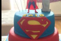 Superman Cake / Birthday cakes