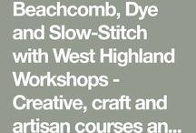 West Highland Workshops 2018 / Place-based textiles workshops on the West coast of Scotland