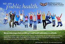 We are Public Health / Monthly postcards highlighting the work of Northwest Center for Public Health Practice.