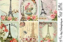 Shabby Collage sheet