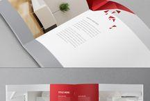 会社案内・折りパンフレットデザイン