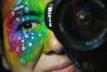 autorretrato / autorretrato a todo color