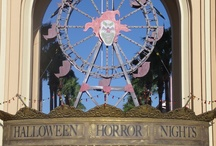 My HHN Designs / Examples of my scenic designs while at Universal Studios Orlando / by Mary Nesler