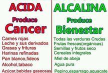 Alimentación / Dieta alcalina