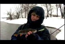 Зимняя рыбалка на Москва реке. Ловля на спиннинг. Хитрости…