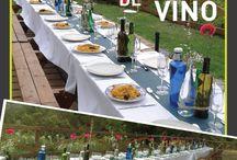 Boda con botellas y cristales / Hacer una grande fiesta sin gastar. Botellas limpias y todos tipos de potes con velas y flores.