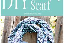 Infinity scarfs