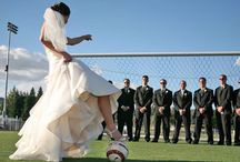 Play Ball / Incorporate your favorite hobby or sport into your big day! www.snapshots.com/weddings