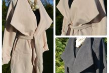 Coats / Beautiful coats that inspire us and the ones we have available for you at Mandy's Heaven
