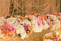 Head table | Sweet heart table / Sweet heart table, head table, bridal party seating  / by Shaadi Bazaar