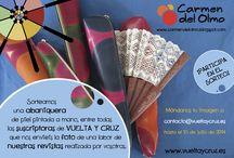 Promociones / Promos / Concursos y ofertas especiales de la revista de bolillos Vuelta y Cruz. --- Contests and special offers of Twist and Cross bobbin lace magazine.