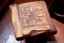 Reclaimed Wood Coffee and Side Tables
