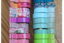 Washi Tape / Estas cintas decorativas son súper para hacer muchísimos DIYS y que queden hermosos