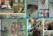 Previous J&G's Gifts party orders. / Some of the party favours we have done