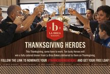 #ThanksgivingHeroes