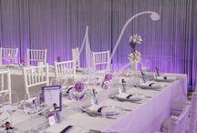 Mariage S & A / Décor réalisé par : Nuits Célestes Mariage Wedding Planner & Décorateur Paris Bordeaux et Périgueux  #decoration #decorateur #weddingplanner #nuitscelestes #bordeaux #paris #perigueux #mariage #wedding #createurdefeerie #inspiration #illumination #salledesfetes #organisateur #marrainemelodie #cinema #bougies #pompom #prune #voilage #train #mariagetrain #fun #miseenlumieres