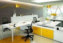 bureaux Open space / Sélection de bureaux et bench pour espace de travail en open space