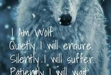 the inner strength of a wolf