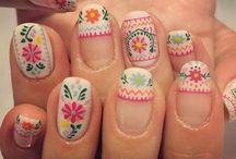 folk nails
