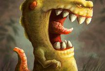 Creatures 3 / Creature Design, Art and Illustration