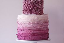 Wedding: The Cake / Because every girl lets it cross their mind once... Or twice.
