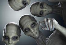 Alienígenas Estraterrestres