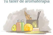 Aromaterapia y cosmetica natural