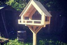 Bird food feeders & tables