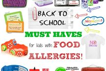 Food allergy back to school / Going back to school safely with food allergies.