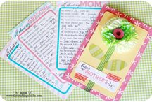 MOTHER'S DAY / Scrapbooking project and other craft for mother's day