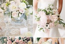 Summer Wedding Inspiration / Looking for perfect color palettes, table decorations, or inspiration four summer wedding ceremony? Look no further, we have it all here. Angel Isabella Flowers creates perfect bouquets, centrepieces, and boutonnieres in every color palette!