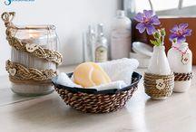 Home Decoration / Hier findest du einfache Bastelideen für verschiedene Anlässe aus verschiedenen Materialen.