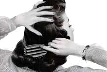 vintage hair / Mostly vintage or vintage-inspired ideas for 'dos from the 1930s-1950s. / by Tasha