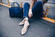 nila&nila - Angelichic fashion blogger / www.nila-nila.com ballerina con lacci // slipper with laces MADE IN ITALY READ MORE: http://www.angelichic.com/maxipull-come-portarlo/