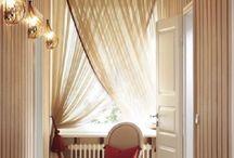 Перекрещивающиеся шторы