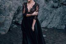 Elegant woman / outdoor