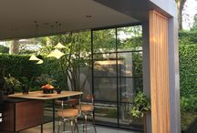 Our products at RHS Chelsea Flower Show 2018 / HIMACS and Shou Sugi Ban at RHS Chelsea Flower Show 2018, which can be used for interiors and exteriors by architects and interior designers.