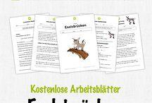 Tysk kostenlos arbeitsblätter
