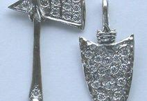 Platinum jewelry / Platinum content Rings, pendants and more