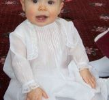 Heirloom Baby Ensembles and Christening Gowns USA Made / Heirloom quality baby dresses and christening gowns from Nannette Stewart Originals.