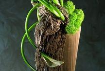 floral designs w/wood