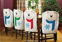Декорирование стульев / Как украсить стулья для обновления интерьера к празднику