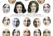 prosopa  faces